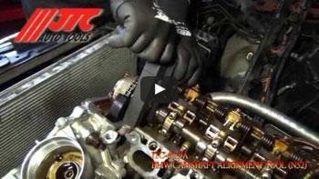JTC 4164 - Набор инструментов для демонтажа сайлентблоков подрамника (TOYOTA Altis) JTC