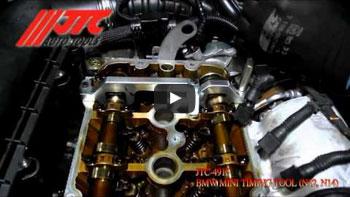 JTC 4166 - Приспособление для демонтажа трансмиссии с двумя сцеплениями (VOLVO, FORD) JTC