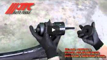 JTC 4215 - Приспособление для сжатия пружин передней подвески (VOLVO S60, S80, V70, XC70, XC60, XC90) JTC