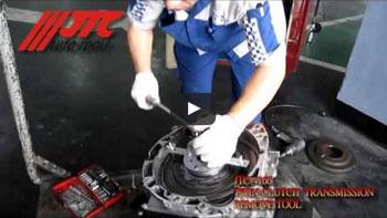 JTC 4221 - Набор инструментов для демонтажа сайлентблоков трансмиссии (BMW X3, X5, X6) JTC