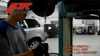 JTC 4225 - Набор инструментов для демонтажа шаровых опор (Volvo S60, S80, V70, XC70, XC60, XC90) JTC