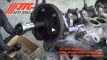 JTC 4229 - Набор инструментов для демонтажа шкива привода водяного насоса (FORD, MAZDA 2.5/3.0) JTC