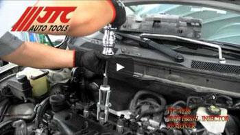 JTC 4242 - Набор инструментов для демонтажа сайлентблоков задней подвески (BMW E87, E90) JTC