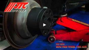 JTC 4301 - Набор инструментов для демонтажа сайлентблоков заднего подрамника (BMW E87, E90) JTC