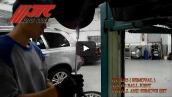 JTC 4306 - Набор инструментов для замены ступичных подшипников d=78 мм (FORD) в кейсе JTC