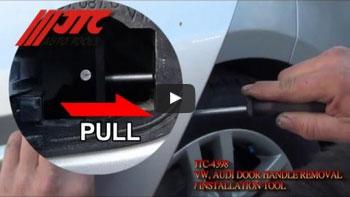 JTC 4398 - Приспособление для демонтажа ручки двери (VW,AUDI) JTC