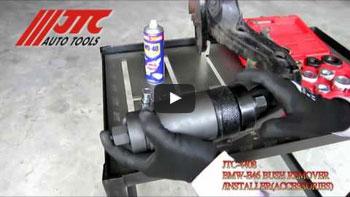 JTC 4408 - Съемник для снятия и установки сайлентблока подвески (BMW E46) JTC