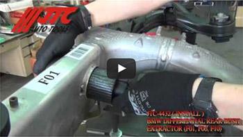 JTC 4432 - Набор инструментов для снятия и установки сайлентблоков заднего подрамника (BMW F01, F06, F10) JTC
