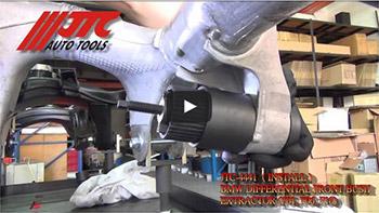 JTC 4441 - Набор инструментов для снятия и установки сайлентблоков переднего подрамника (BMW F01, F06, F10) JTC