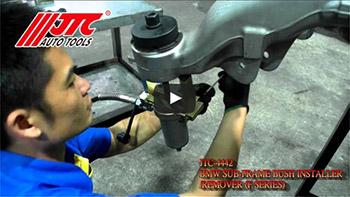 JTC 4442 - Набор инструментов для демонтажа сайлентблоков заднего подрамника BMW (F серия) JTC