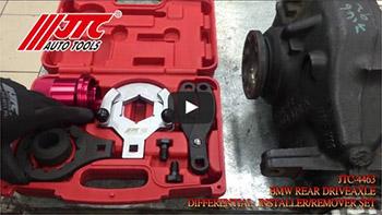 JTC 4463 - Набор инструментов для заднего редуктора BMW (RWD, 4WD) JTC