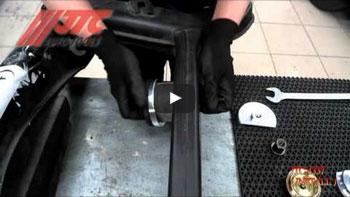 JTC 5201 - Набор инструментов для восстановления резьбы шпилек колес в кейсе JTC